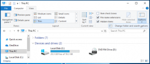 How to display hidden system files in Windows?