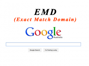 Google Exact Match Domain algorithm | EMD updates