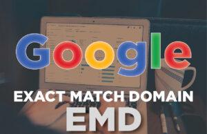 Google Exact Match Domain algorithm